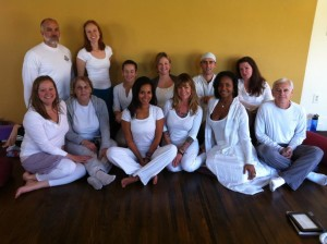 200-hour teacher training graduation class